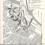 Kaart over de slag om de Waalbrug