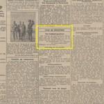 Nijmeegsche Courant 17-07-1943 met vermelding dat het Valkhofpark gesloten wordt voor publiek (in verband met de bouw van de Bunkers). Bron: Provinciale Geldersche en Nijmeegsche courant